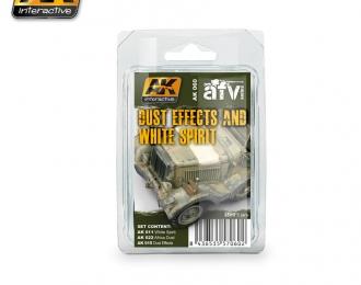 Набор для нанесения эффектов DUST EFFECTS AND WHITE SPIRIT SET(эффекты пыли и уайт-спирит)