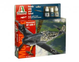 Сборная модель BF-109F (подарочный набор)