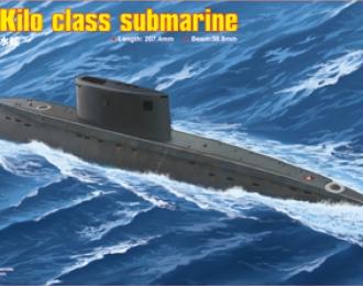 Сборная модель Подводная лодка PLAN Kilo class submarine