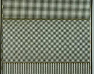 Фототравление Набор из 3 сеток с шагом 0.6 мм, латунь 0.1 мм