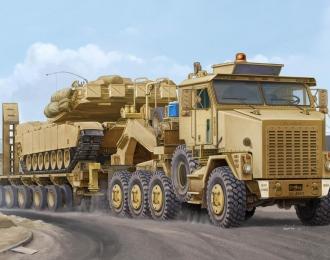 Сборная модель Танковый тягач M1070/M1000 HETS
