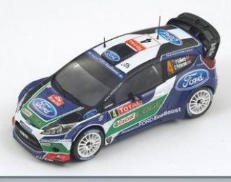 FORD Fiesta RS WRC 3rd Monte Carlo 2012 P. Solberg – C. Patterson, blue