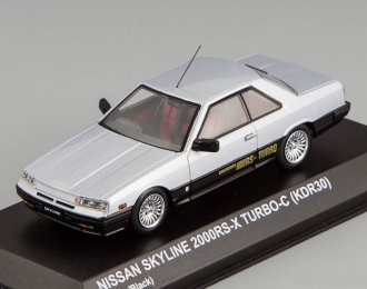 NISSAN Skyline 2000 RS-X TURBO-C (KDR30), silver / black
