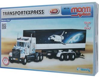 Сборная модель Western Star Transportexpress