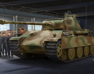 Сборная модель Немецкий тяжелый танк Sd.Kfz.171 Panther G