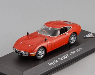 TOYOTA 2000 GT (1969-1970), red
