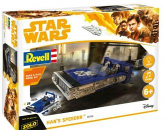 Сборная модель Звездные Войны Han Solo Item C Star Wars Hans Speeder