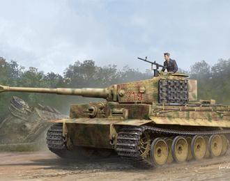 Сборная модель Pz.Kpfw.VI Ausf.E Sd.Kfz.181 Tiger I (Medium Production) w/ Zimmerit