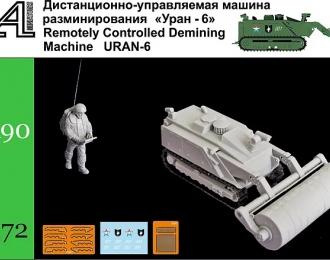 """Сборная модель Саперный робот """"Уран-6"""""""