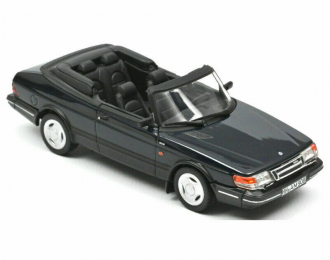 SAAB 900 Turbo 16 Cabriolet 1992 Dark Blue