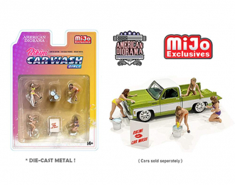 Bikini Car Wash Girls