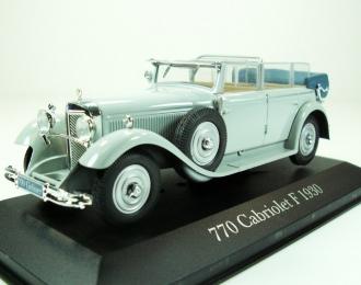 MERCEDES-BENZ 770 Cabriolet F (1930), серый