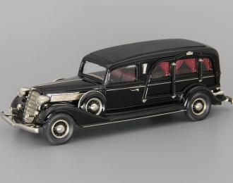 Miller-Buick Art Model Funeral Coach, black