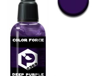 глубокий фиолетово-черный (deep purple black)