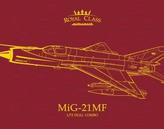 Сборная модель Советский истребитель МиГ-21МФ