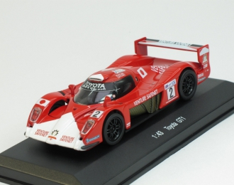 TOYOTA GT1, red