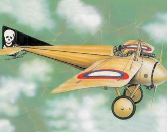 Сборная модель Французский истребитель Morane-Saulnier I