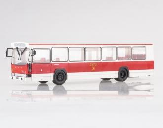 BERLIET Jelcz PR 100 Poland (1973), white / red