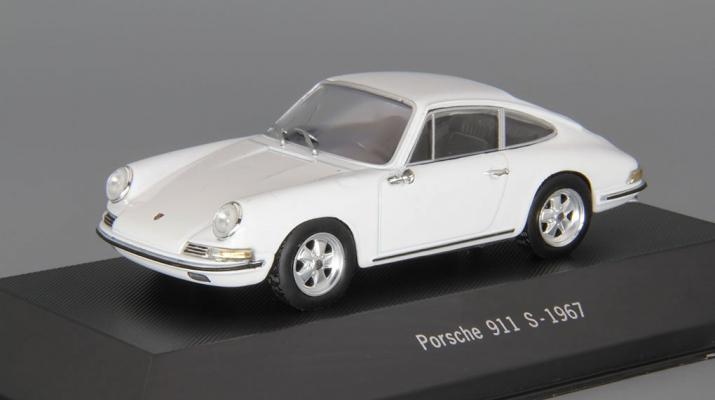 (Уценка!) PORSCHE 911 S (1967), white