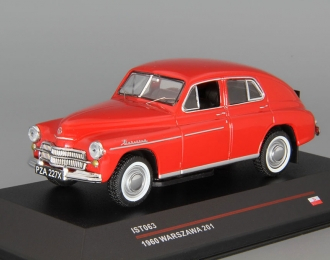 WARSZAWA 201 (1960), dark red