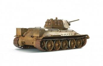 Сборная модель Советский средний танк Т-34/76
