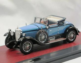 MERCEDES-BENZ 630K Sport Cabriolet by Hibbard & Darrin #38182 (открытый) 1927 Blue/Light Blue