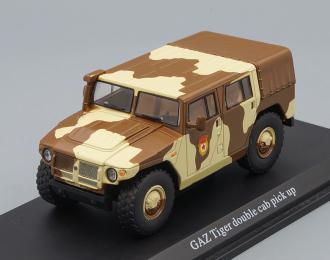 Бронеавтомобиль ГАЗ-233001 Тигр, песочный камуфляж