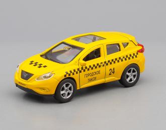 NISSAN Murano Такси, yellow