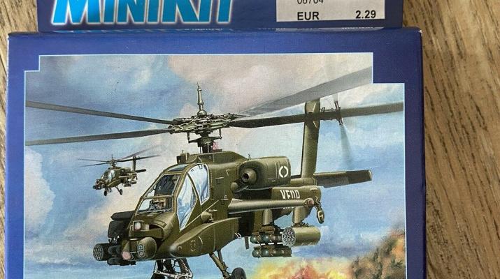 Сборная модель AH-64 Apache