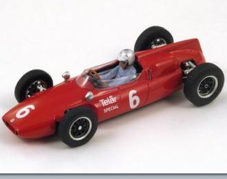 COOPER T53 6 US GP 1961 Roger Penske (FI), red