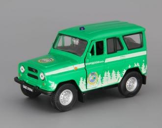 УАЗ 31514 Природоохрана, зеленый