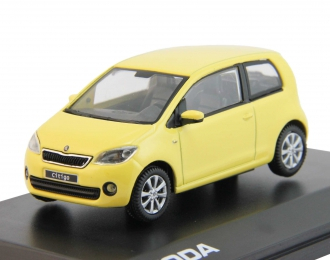 SKODA Citigo 3D (2012), sunflower yellow