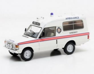 "RANGE ROVER 4x4 Herbert Lomas ""Sоmerset Ambulance"" 1972 White"