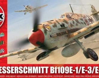 Сборная модель Немецкий истребитель Messerschmitt Bf.109 E-1 / E-3 / E-7 Trop