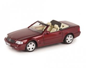 Mercedes-Benz SL500 R129 (W129) рестайлинг 1999 янтарно-красный