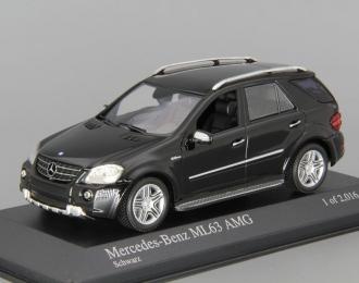 MERCEDES-BENZ ML63 AMG W164 (2008), black