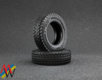 Резина Continental HSR2 / Michelin X line 315/70 R22,5 (задняя), цена за шт.