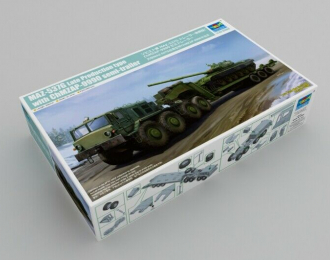 Сборная модель 537G Late Production type with ChMZAP-9990 semi-trailer