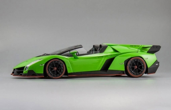 LAMBORGHINI Veneno Roadster, green / red / black