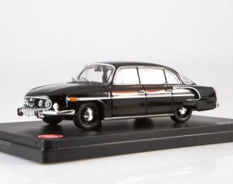 Tatra 603 (1969) black, red interior