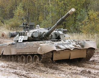 Танк  Russian T-80U