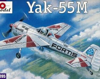 Сборная модель Советский легкомоторный самолет Як-55М