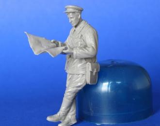 Cоветский танковый офицер WW2