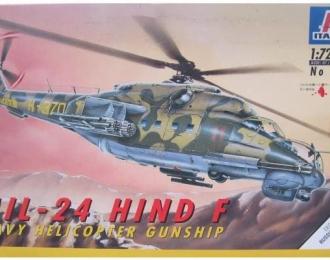Сборная модель Советский ударный вертолет Ми-24Е