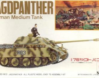 Сборная модель Германская САУ Jagdpanther