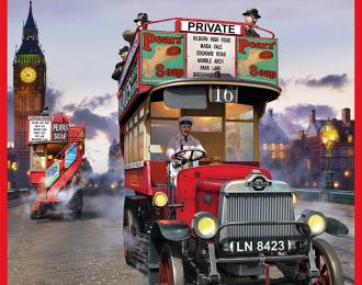 Сборная модель Лондонский омнибус B-TYPE 1919 г.
