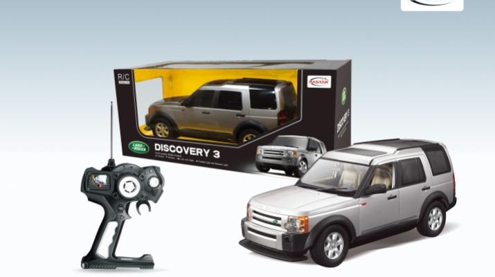 LAND ROVER Discovery 3 на радиоуправлении, silver
