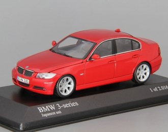 BMW 3-Series (2005), red