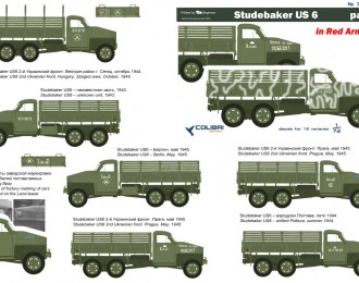 Декаль для Studebaker US6 in Red Army  Part I