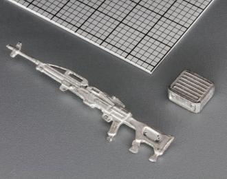(КИТ) Пулемет Печенег 7,62 мм. на стойке